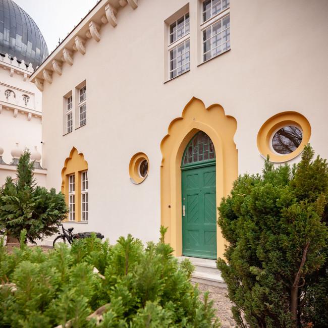 "<small>Stadtführung:</small><br><b>""Die Wilmersdorfer Moschee""</b> 3"