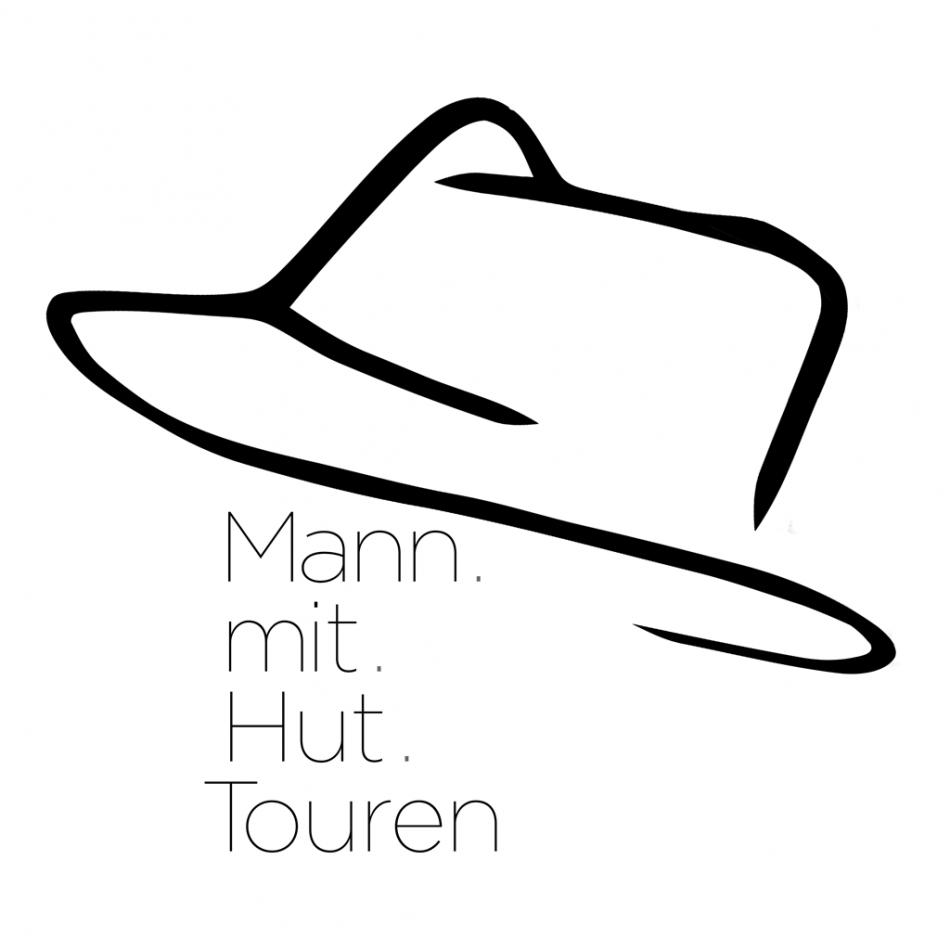 Mann mit Hut Touren - Logo