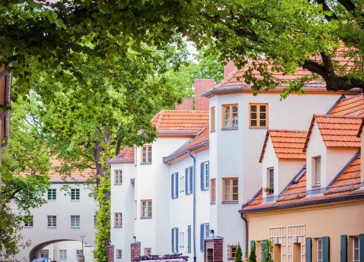 """""""Mann mit Hut Touren"""" Stadtführung """"Die Siemensstadt. Wie und warum es hier begann"""""""