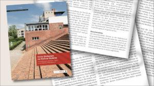 """<strong>""""Sechs Siedlungen der Berliner Moderne"""" </strong><br>Das Fachbuch. 1"""